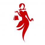 divatos és nagyméretű logó